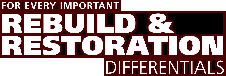 Rebuild & Restoration